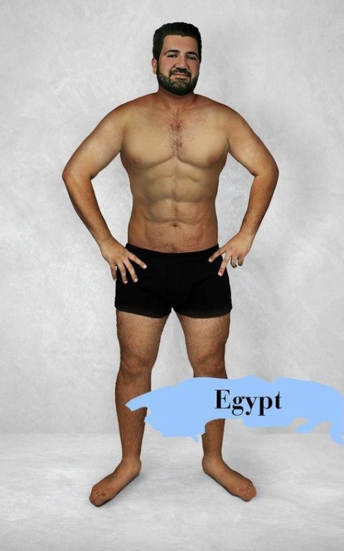 Chuẩn mực Ai Cập - Ảnh: onlinedoctor.superdrug.com