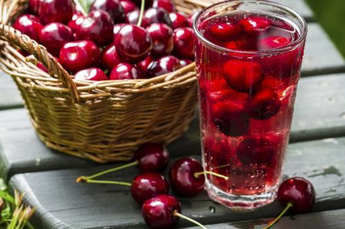 Nướp ép anh đào kết hợp giấm táo giúp cải thiện hệ miễn dịch